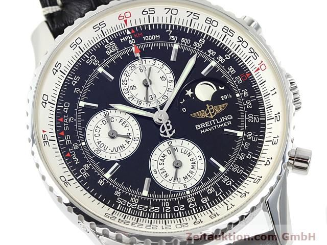 Used luxury watch Breitling Montbrillant steel automatic Kal. ETA 2892A2  | 140610 02