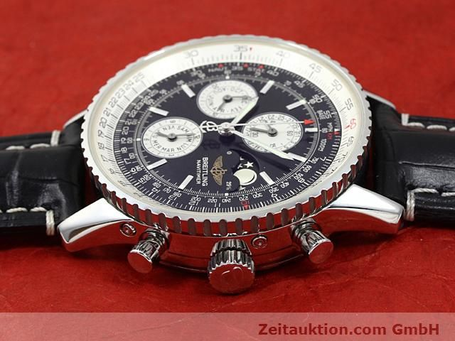 Used luxury watch Breitling Montbrillant steel automatic Kal. ETA 2892A2  | 140610 05