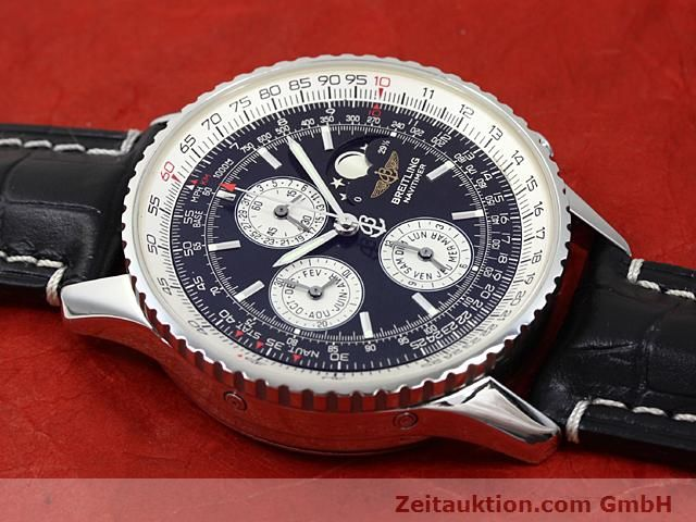 Used luxury watch Breitling Montbrillant steel automatic Kal. ETA 2892A2  | 140610 12