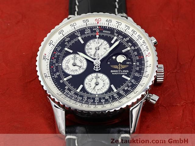 Used luxury watch Breitling Montbrillant steel automatic Kal. ETA 2892A2  | 140610 13