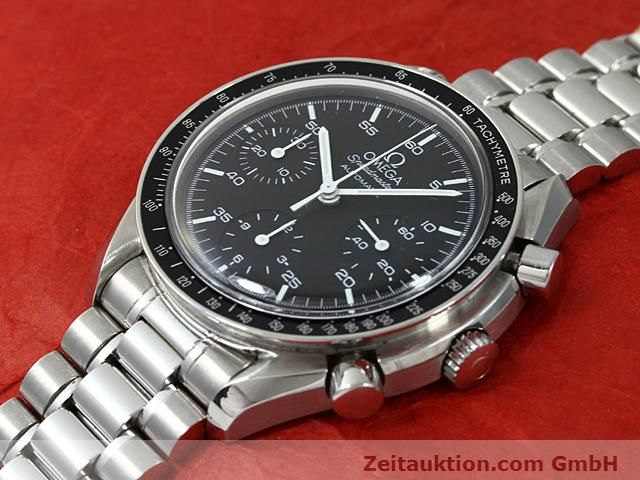 Used luxury watch Omega Speedmaster steel automatic Kal. 3220  | 140612 01