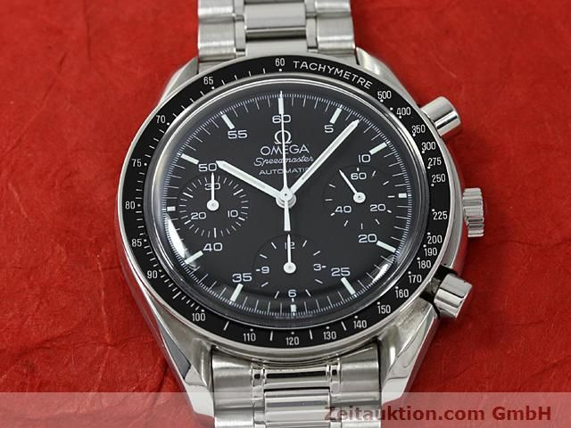 Used luxury watch Omega Speedmaster steel automatic Kal. 3220  | 140612 13