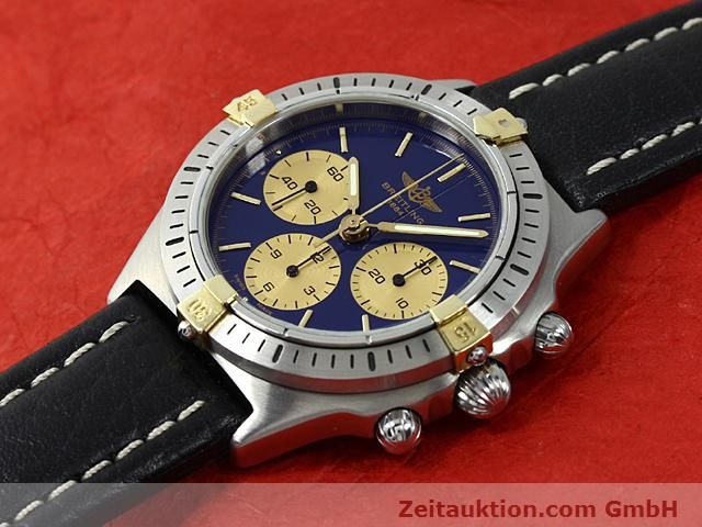 Used luxury watch Breitling Sextant gilt steel manual winding Kal. LWO 1873 Ref. 80520N  | 140613 01