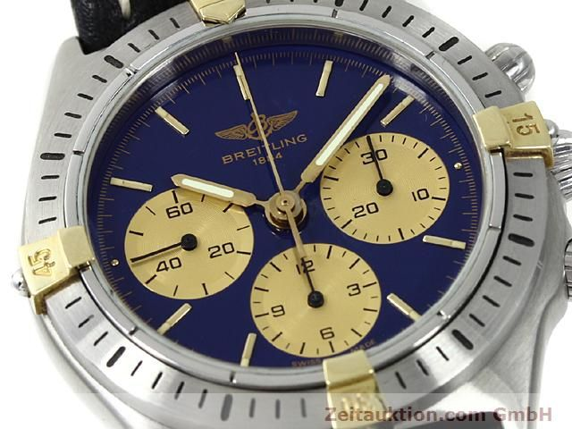 Used luxury watch Breitling Sextant gilt steel manual winding Kal. LWO 1873 Ref. 80520N  | 140613 02