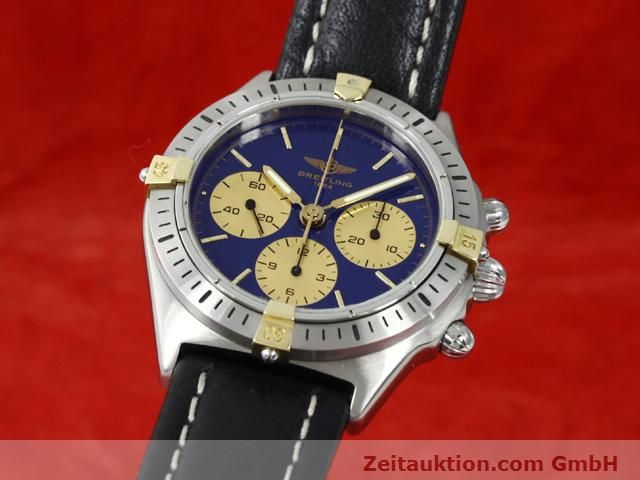 Used luxury watch Breitling Sextant gilt steel manual winding Kal. LWO 1873 Ref. 80520N  | 140613 04