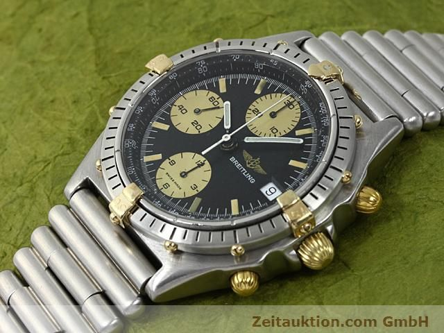 Used luxury watch Breitling Chronomat gilt steel automatic Kal. ETA 7750 Ref. 81950  | 140614 01