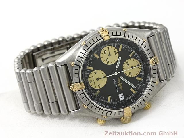 Used luxury watch Breitling Chronomat gilt steel automatic Kal. ETA 7750 Ref. 81950  | 140614 03