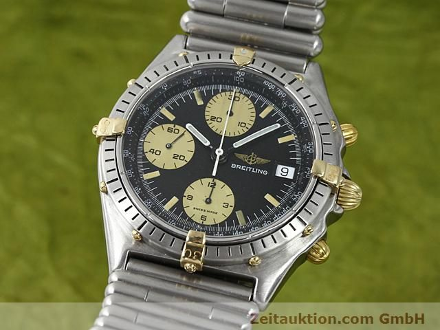 Used luxury watch Breitling Chronomat gilt steel automatic Kal. ETA 7750 Ref. 81950  | 140614 04
