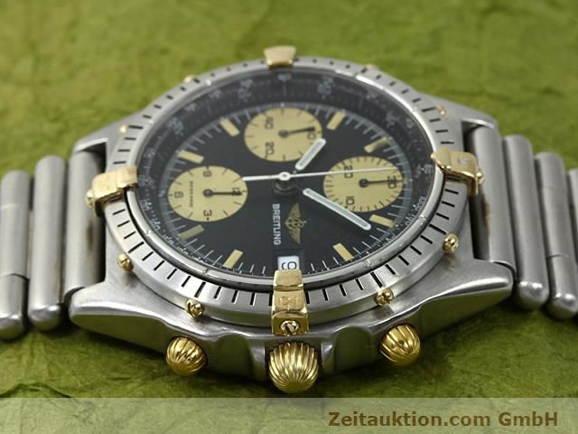 Used luxury watch Breitling Chronomat gilt steel automatic Kal. ETA 7750 Ref. 81950  | 140614 05