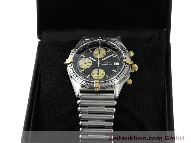 Used luxury watch Breitling Chronomat gilt steel automatic Kal. ETA 7750 Ref. 81950  | 140614 07