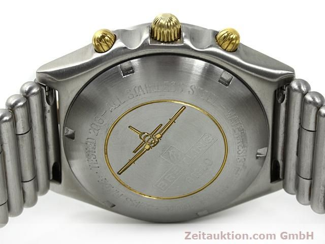 Used luxury watch Breitling Chronomat gilt steel automatic Kal. ETA 7750 Ref. 81950  | 140614 09