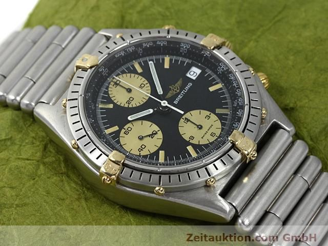 Used luxury watch Breitling Chronomat gilt steel automatic Kal. ETA 7750 Ref. 81950  | 140614 12