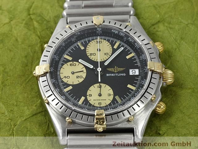 Used luxury watch Breitling Chronomat gilt steel automatic Kal. ETA 7750 Ref. 81950  | 140614 13