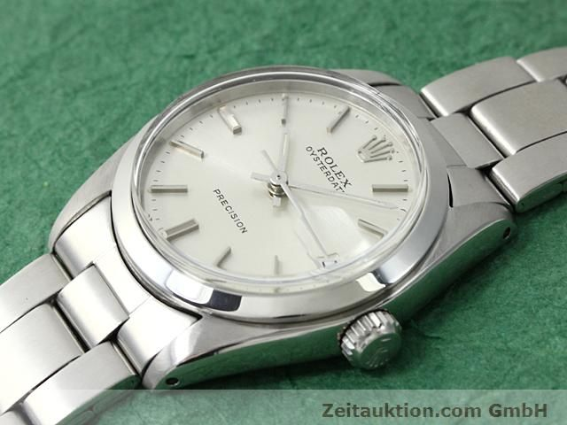 Used luxury watch Rolex Precision steel manual winding Kal. 1225 Ref. 6466  | 140618 01