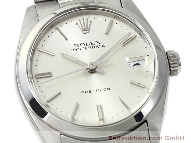 Used luxury watch Rolex Precision steel manual winding Kal. 1225 Ref. 6466  | 140618 02
