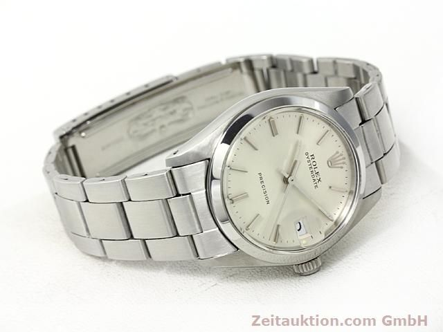 Used luxury watch Rolex Precision steel manual winding Kal. 1225 Ref. 6466  | 140618 03