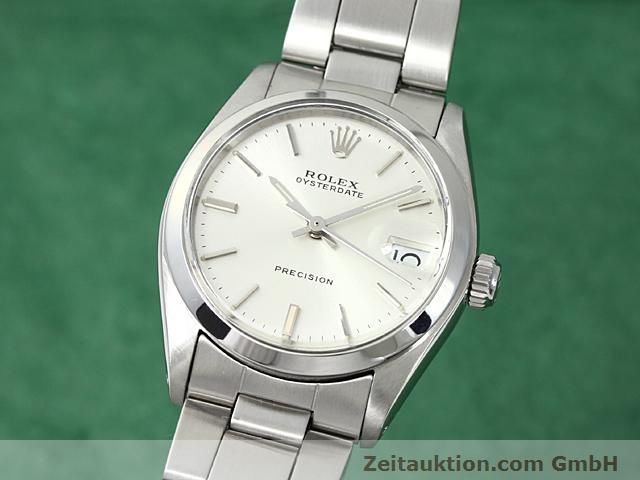 Used luxury watch Rolex Precision steel manual winding Kal. 1225 Ref. 6466  | 140618 04