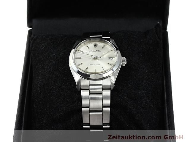Used luxury watch Rolex Precision steel manual winding Kal. 1225 Ref. 6466  | 140618 07