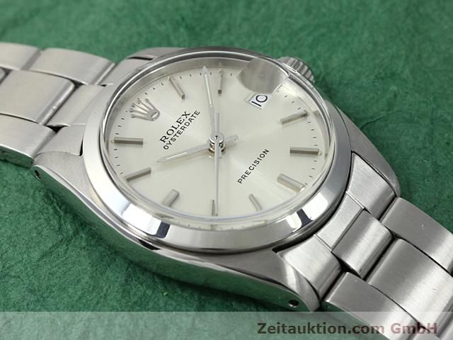 Used luxury watch Rolex Precision steel manual winding Kal. 1225 Ref. 6466  | 140618 12