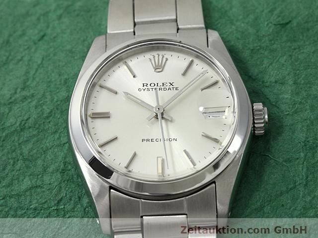 Used luxury watch Rolex Precision steel manual winding Kal. 1225 Ref. 6466  | 140618 13