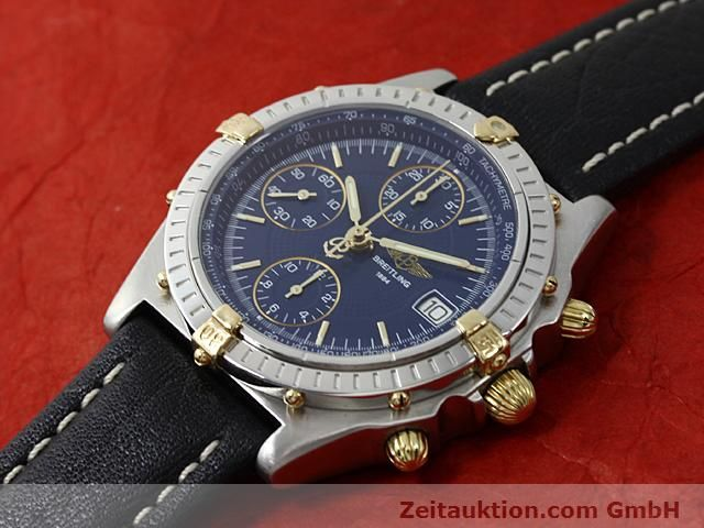 Used luxury watch Breitling Chronomat gilt steel automatic Kal. ETA 7750 Ref. B13050  | 140619 01