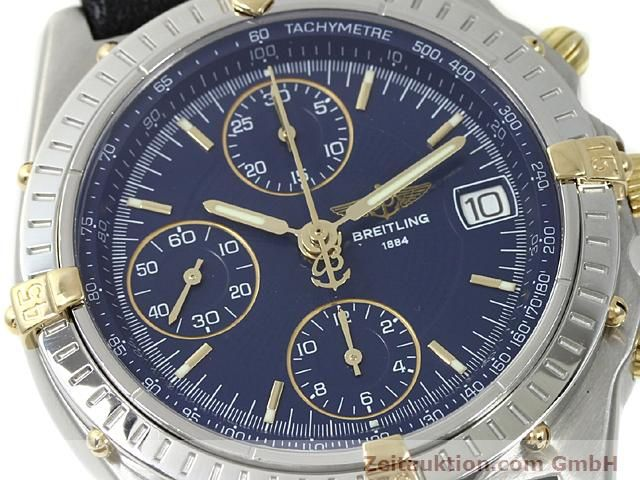 Used luxury watch Breitling Chronomat gilt steel automatic Kal. ETA 7750 Ref. B13050  | 140619 02