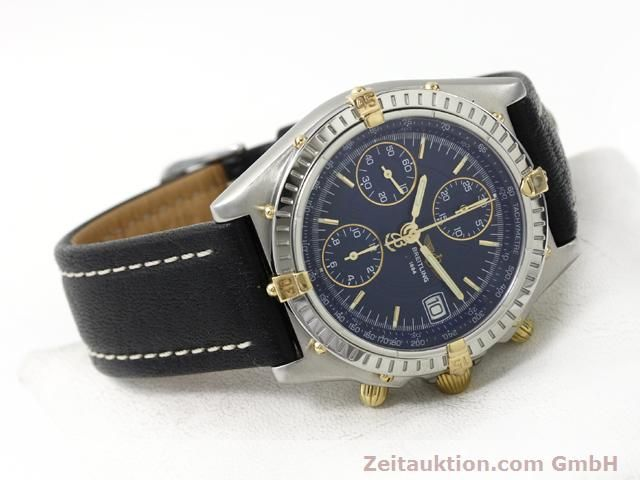 Used luxury watch Breitling Chronomat gilt steel automatic Kal. ETA 7750 Ref. B13050  | 140619 03
