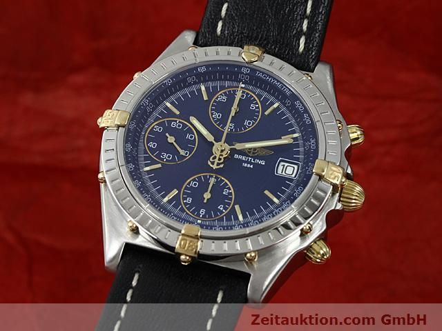 Used luxury watch Breitling Chronomat gilt steel automatic Kal. ETA 7750 Ref. B13050  | 140619 04