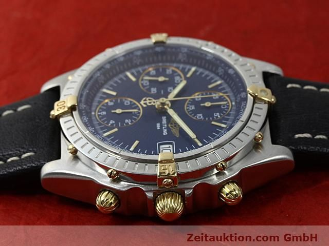 Used luxury watch Breitling Chronomat gilt steel automatic Kal. ETA 7750 Ref. B13050  | 140619 05