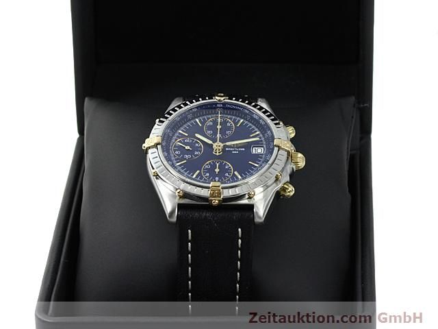 Used luxury watch Breitling Chronomat gilt steel automatic Kal. ETA 7750 Ref. B13050  | 140619 07