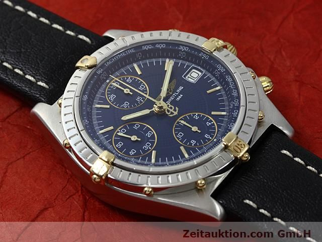 Used luxury watch Breitling Chronomat gilt steel automatic Kal. ETA 7750 Ref. B13050  | 140619 12