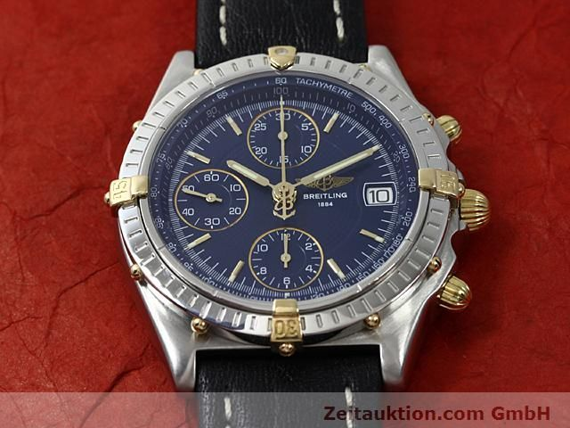 Used luxury watch Breitling Chronomat gilt steel automatic Kal. ETA 7750 Ref. B13050  | 140619 13