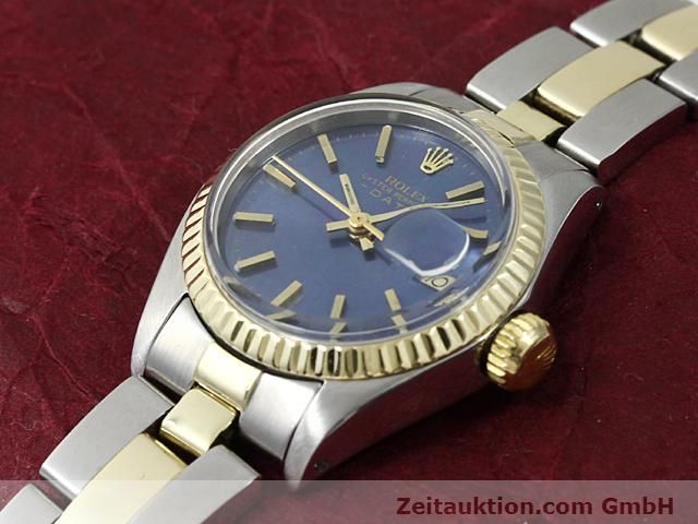 Used luxury watch Rolex Lady Date steel / gold automatic Kal. 2030 Ref. 6917  | 140620 01