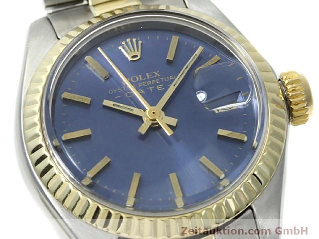 Used luxury watch Rolex Lady Date steel / gold automatic Kal. 2030 Ref. 6917  | 140620 02