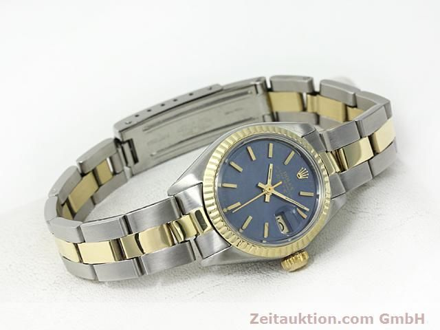 Used luxury watch Rolex Lady Date steel / gold automatic Kal. 2030 Ref. 6917  | 140620 03