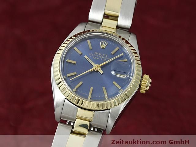 Used luxury watch Rolex Lady Date steel / gold automatic Kal. 2030 Ref. 6917  | 140620 04
