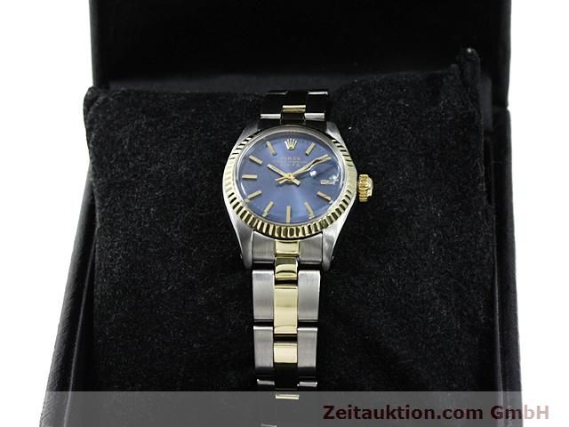 Used luxury watch Rolex Lady Date steel / gold automatic Kal. 2030 Ref. 6917  | 140620 07