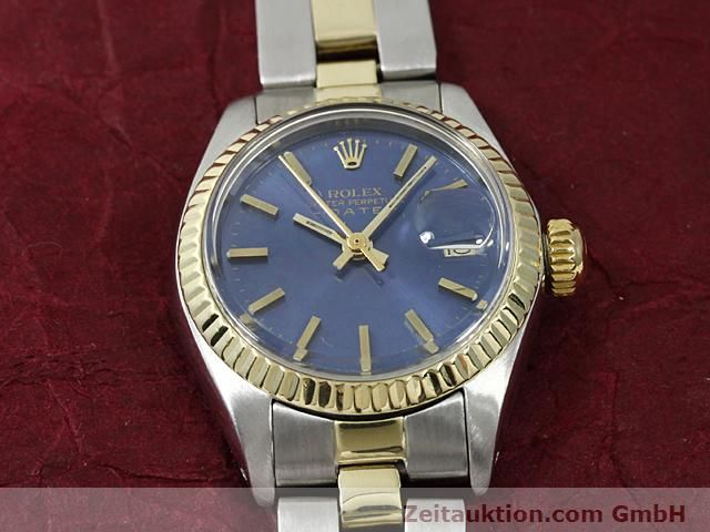 Used luxury watch Rolex Lady Date steel / gold automatic Kal. 2030 Ref. 6917  | 140620 14