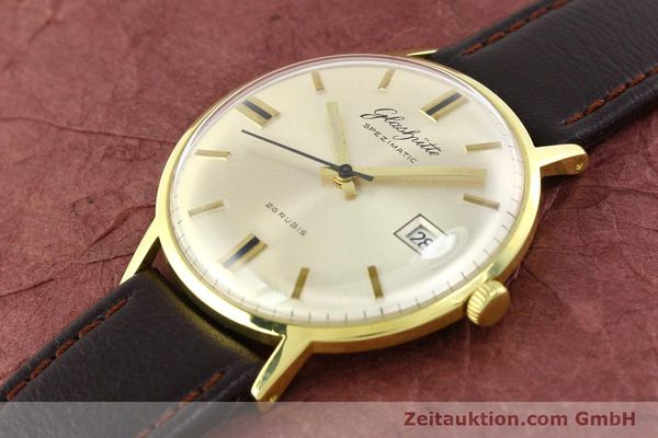Used luxury watch Glashütte Spezimatic gold-plated automatic Kal. 75  | 140623 01