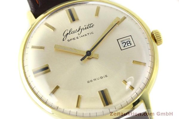 Used luxury watch Glashütte Spezimatic gold-plated automatic Kal. 75  | 140623 02