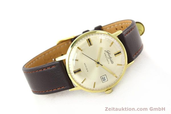 Used luxury watch Glashütte Spezimatic gold-plated automatic Kal. 75  | 140623 03