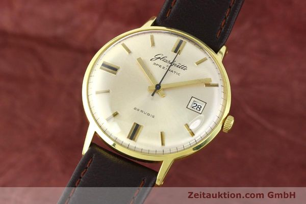 Used luxury watch Glashütte Spezimatic gold-plated automatic Kal. 75  | 140623 04