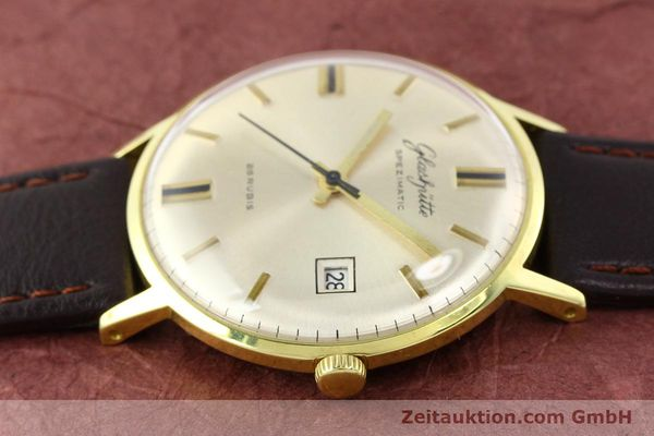 Used luxury watch Glashütte Spezimatic gold-plated automatic Kal. 75  | 140623 05