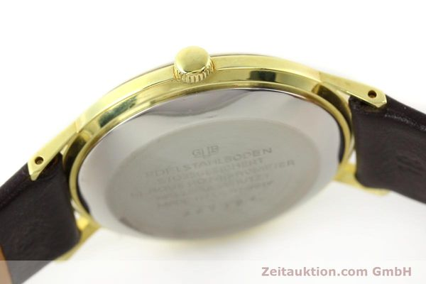 Used luxury watch Glashütte Spezimatic gold-plated automatic Kal. 75  | 140623 08