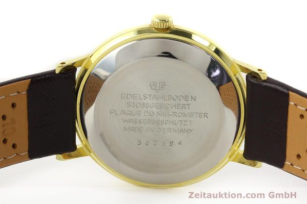 Used luxury watch Glashütte Spezimatic gold-plated automatic Kal. 75  | 140623 09