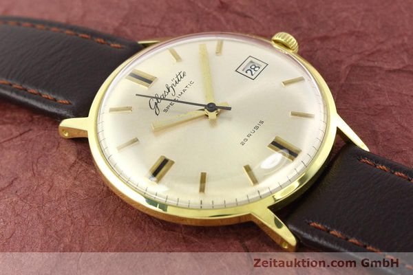 Used luxury watch Glashütte Spezimatic gold-plated automatic Kal. 75  | 140623 12