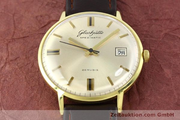 Used luxury watch Glashütte Spezimatic gold-plated automatic Kal. 75  | 140623 13