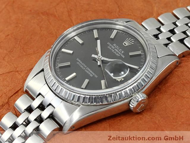 Used luxury watch Rolex Datejust steel automatic Kal. 1570 Ref. 1603  | 140624 01