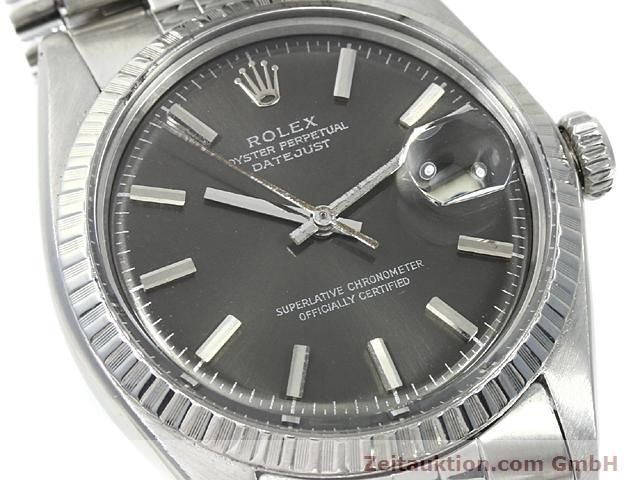 Used luxury watch Rolex Datejust steel automatic Kal. 1570 Ref. 1603  | 140624 02