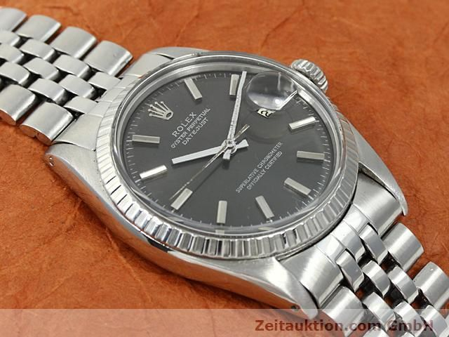 Used luxury watch Rolex Datejust steel automatic Kal. 1570 Ref. 1603  | 140624 03